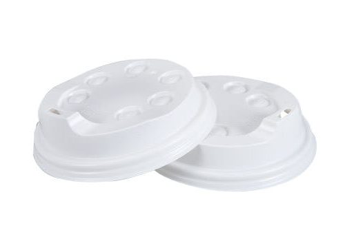 10oz / 12oz / 16oz Coffee Cup Lid - White