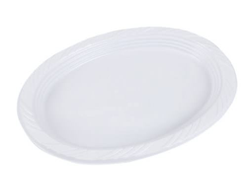 18cm Disposable Plastic Plate - Just Coffee Cups