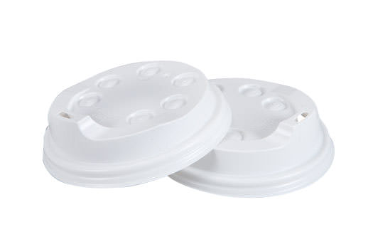 8oz Coffee Cup Lid - White