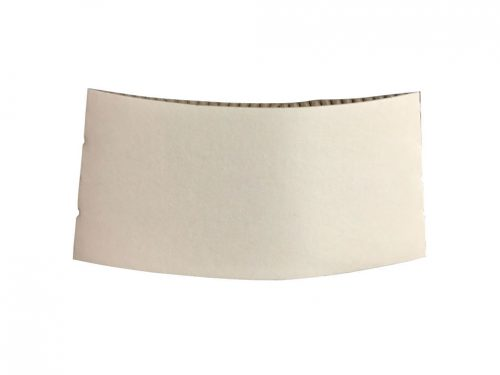 Sleeve For 12oz Coffee Cup - White