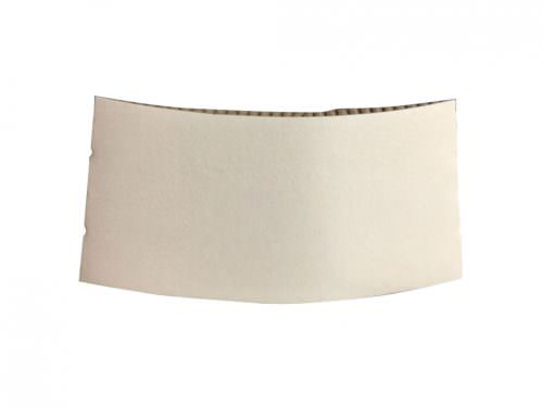 Sleeve For 8oz Coffee Cup - White